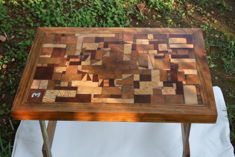 Dise o de mesas mesas personalizadas mar a pons freixas - Mesas de madera de diseno ...