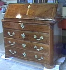 Canterano escritorio restaurado mar a pons freixas - Fotos de muebles antiguos restaurados ...